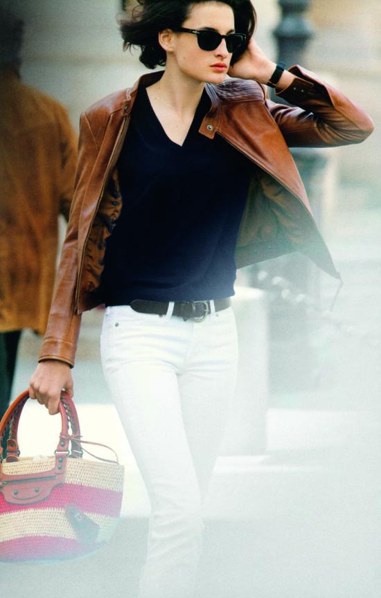 Dicas de uma parisiense: a jaqueta de couro