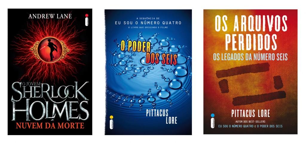 "Novos e-books: séries ""Os Legados de Lorien"" e ""O jovem Sherlock Holmes"""
