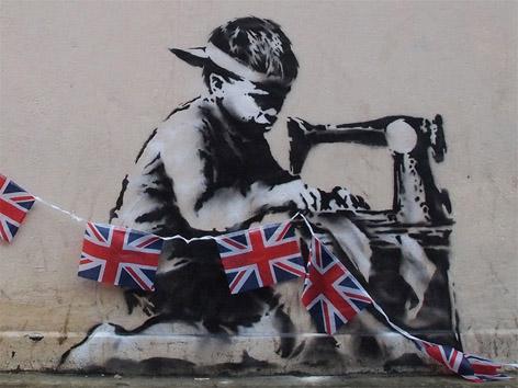 Banksy ataca novamente