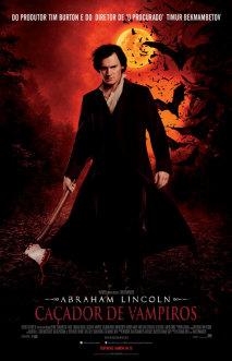Divulgado novo pôster nacional de Abraham Lincoln: Caçador de Vampiros