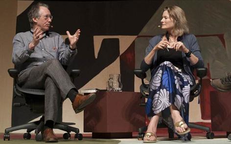 Assista aos melhores momentos da mesa com Jennifer Egan e Ian McEwan na Flip