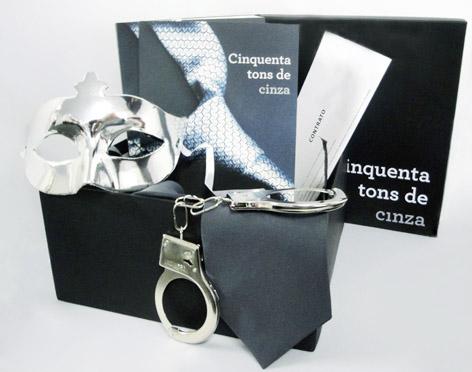 Cinquenta tons de cinza está à venda em todo o Brasil