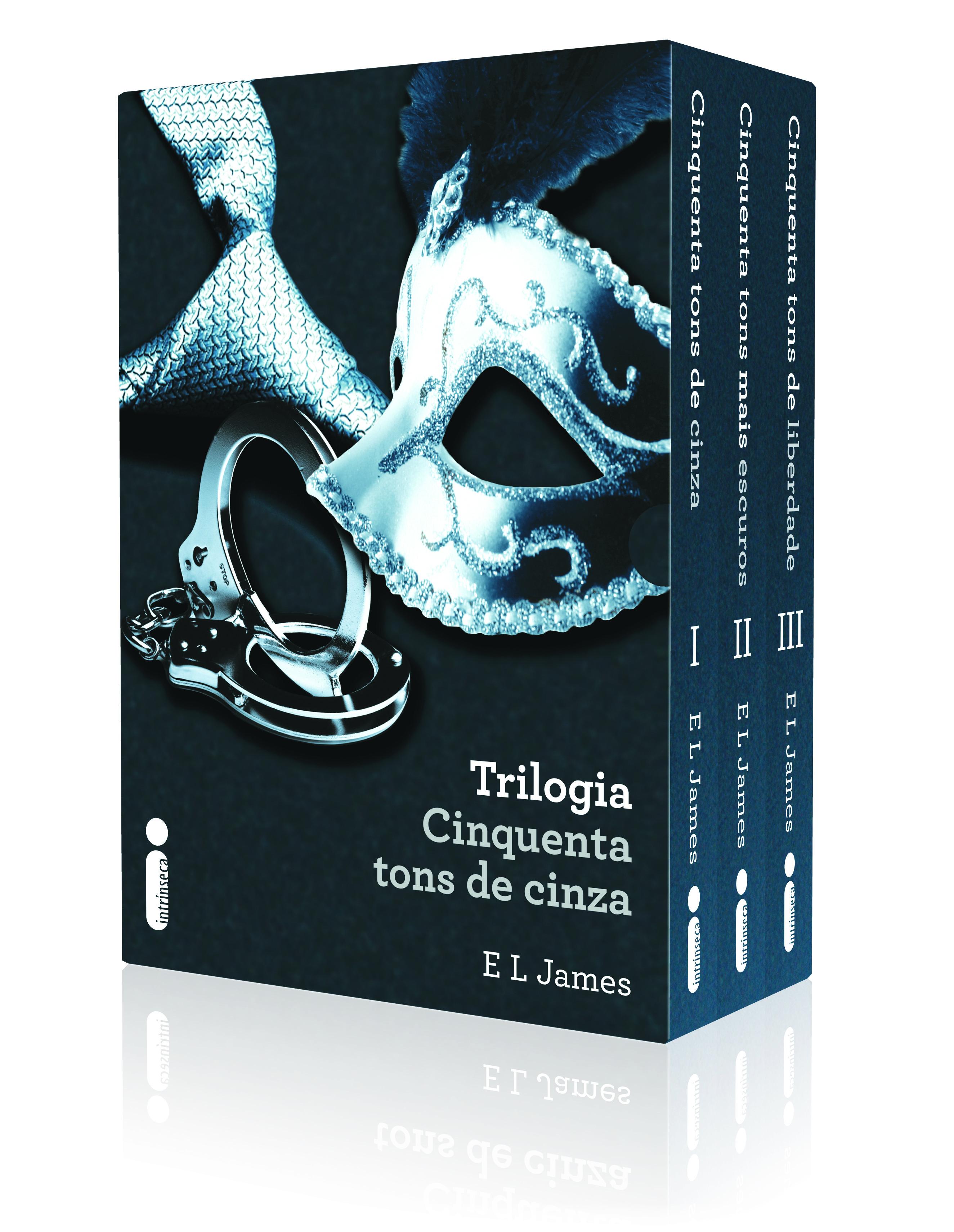 Box da trilogia Cinquenta tons de cinza entra em pré-venda