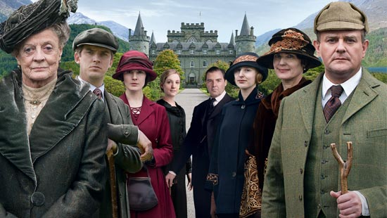 Downton Abbey agora no GNT