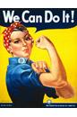 #2 A glamorização da mão de obra feminina: Rosie, a rebitadeira, e Wendy, a soldadora
