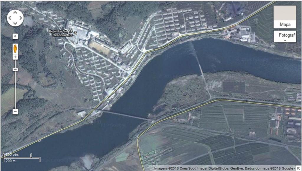 Google publica novo mapa da Coreia do Norte com campos de prisioneiros