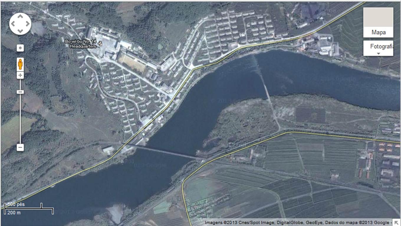 Imagem do Campo 14 (Foto: Google Maps)
