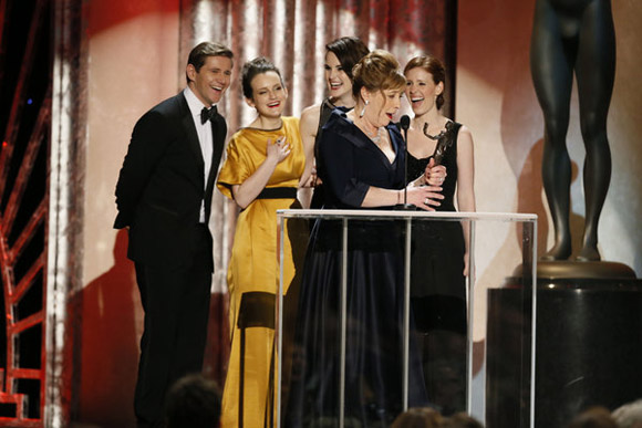 Downton Abbey recebe o SAG Awards