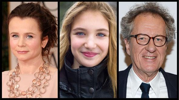 Definido elenco de A menina que roubava livros – o filme