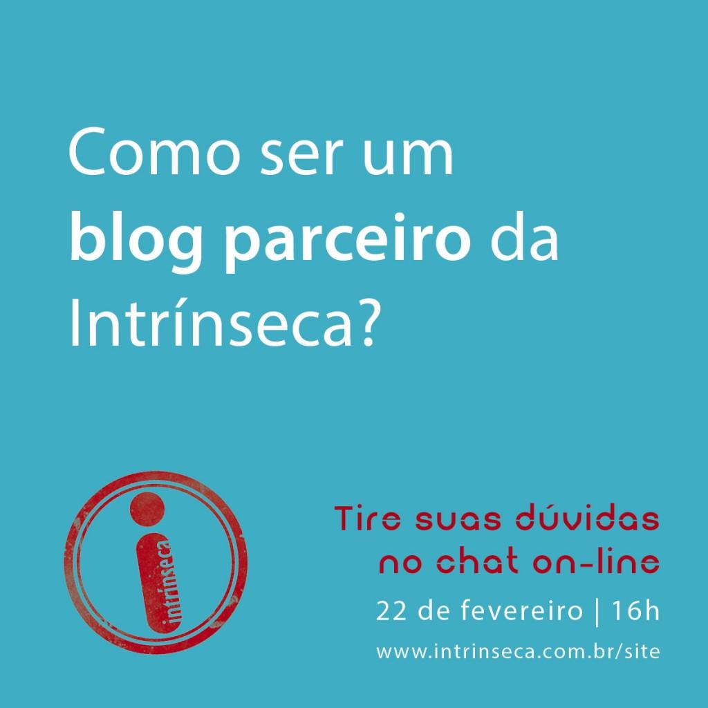 Intrínseca abre seleção para blogs parceiros