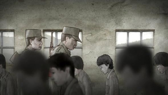 """Imagem do documentário """"Camp 14: Total Control Zone"""""""