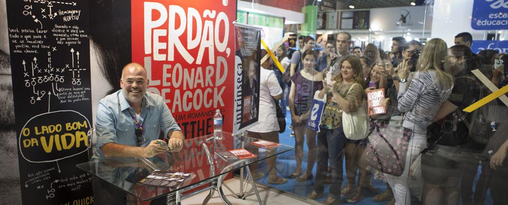Galeria: Matthew Quick na Bienal do Livro Rio