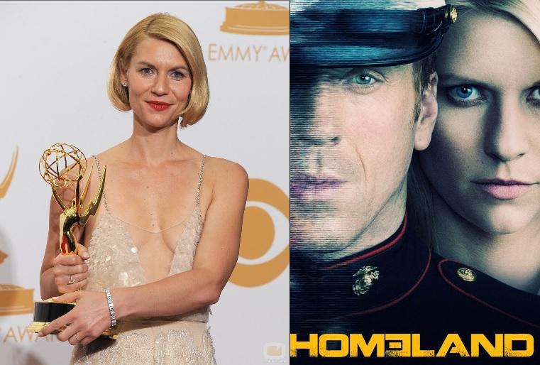 Homeland leva dois troféus no Emmy 2013