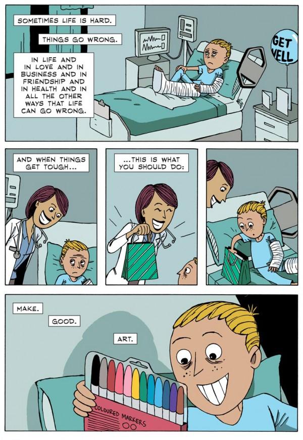 Boa arte em quadrinhos