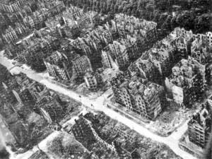 Hamburgo após bombardeios
