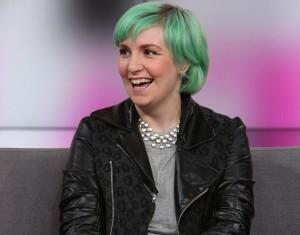 Lena Dunham cabelo verde 2