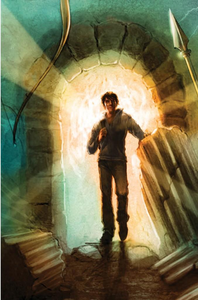 Confira a capa de Percy Jackson e os deuses gregos