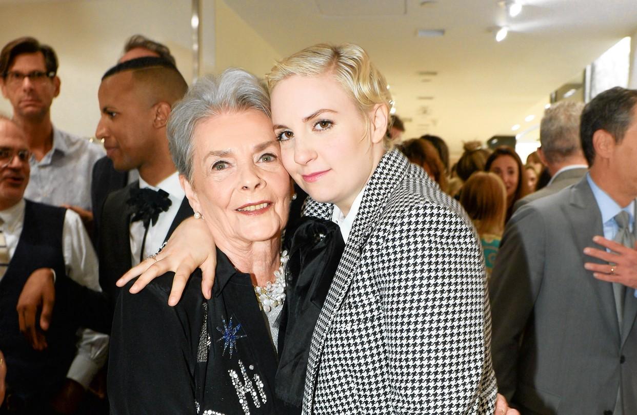 Betty Halbreich e Lena Dunham