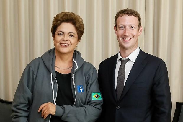 Dilma e Mark