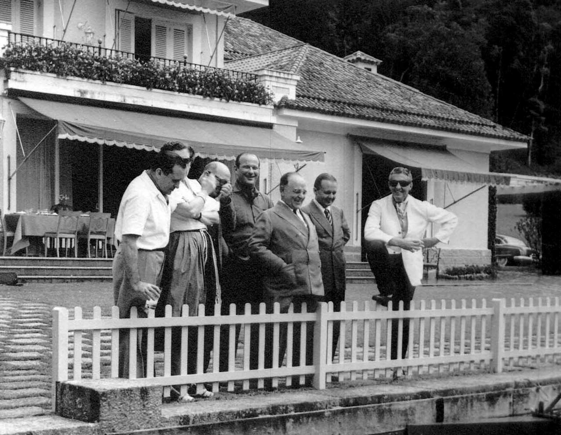 Getúlio Vargas na Granja Comary Fonte: CPDOC/ FGV