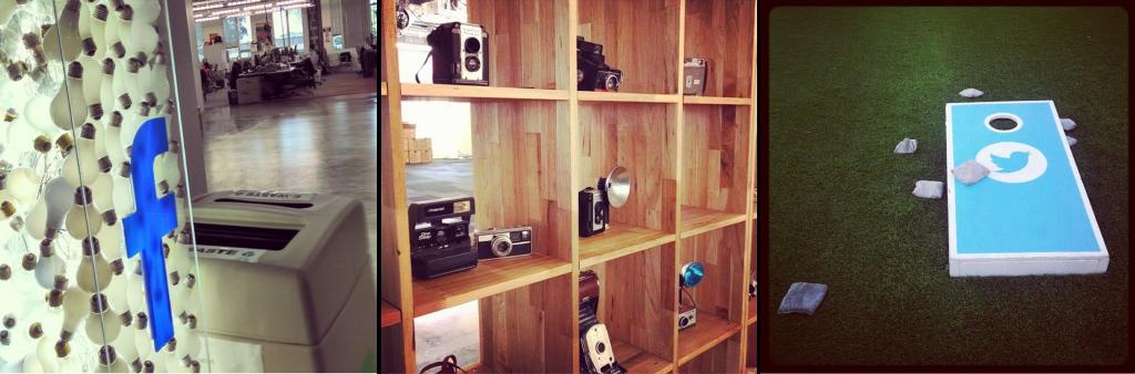 Fotos de viagens de Vilicic pelas sedes do Facebook, Instagram e Twitter (Via @FilipeVilicic )