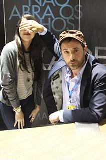 Sessão de autógrafos com Josh Malerman na Bienal