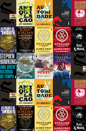 10 Livros para todo tipo de geek
