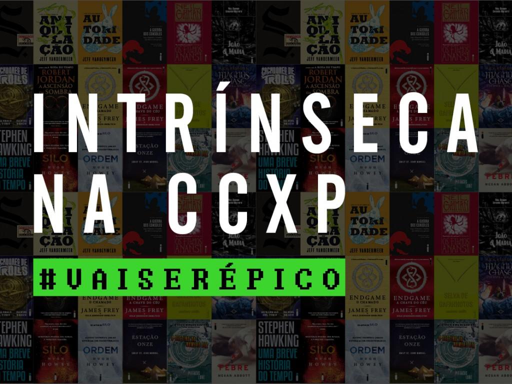 Intrínseca na Comic Con Experience [atualizado]