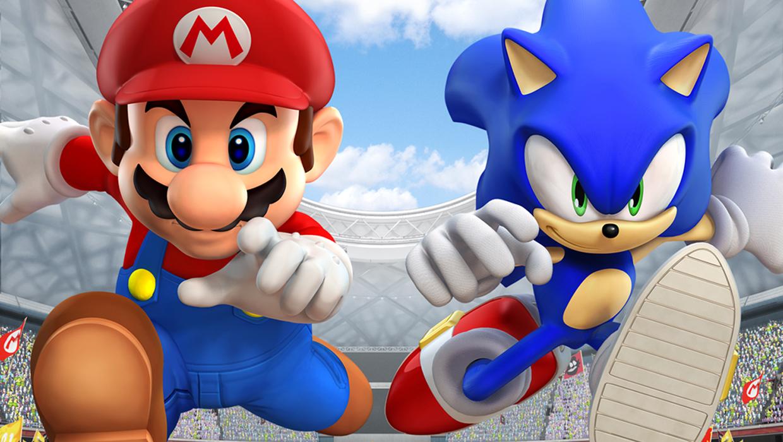 Antes de participarem dos mesmos jogos, Mario e Sonic brigavam entre si através de propagandas constrangedoras.