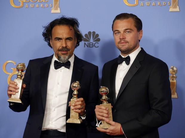 O Regresso é o grande vencedor do Globo de Ouro de 2016