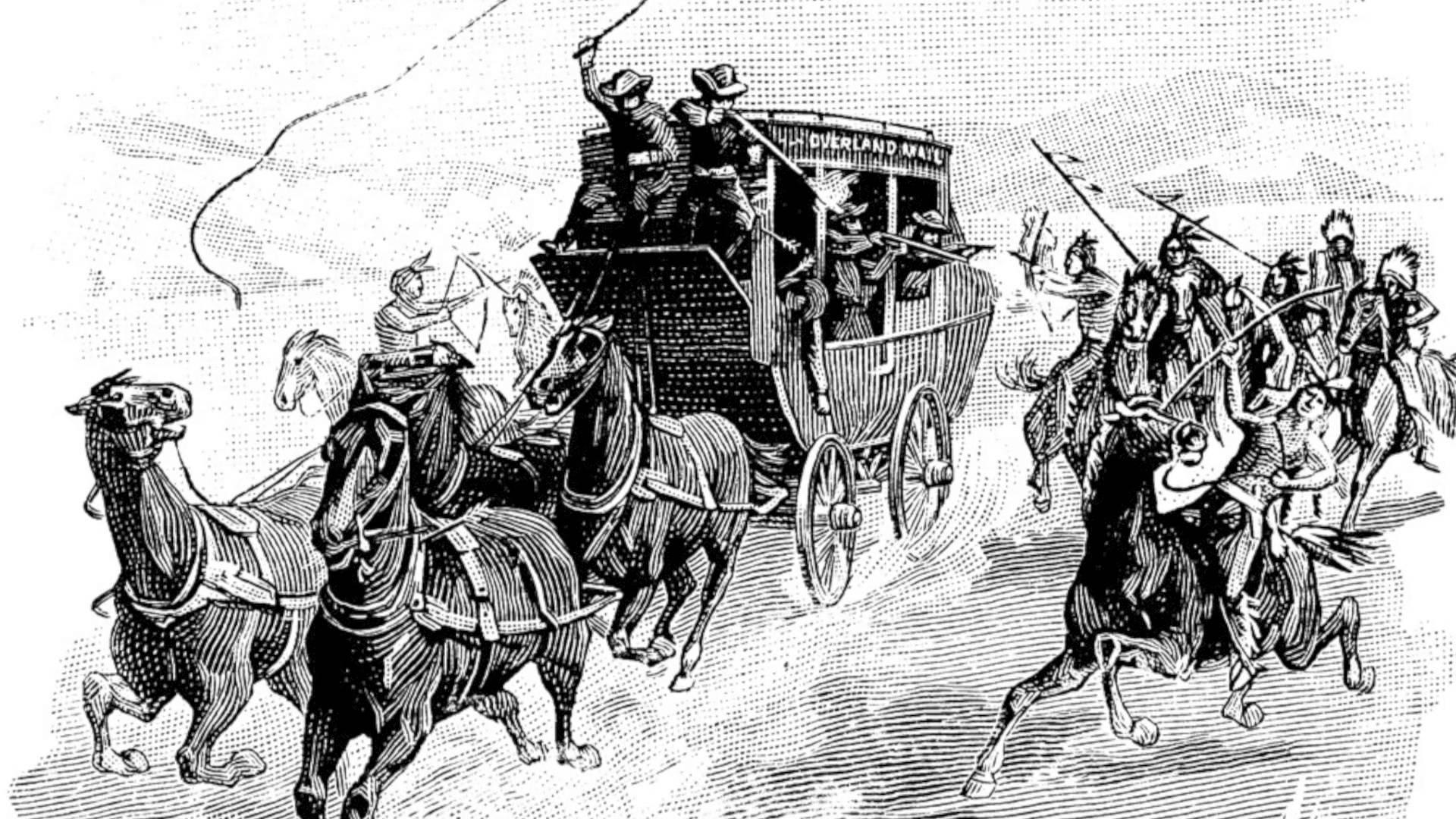A tribo Pawnee, famosa por atacar os grupos que desbravavam o oeste americano. (fonte)