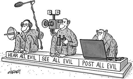 A maldade que se prolifera pelo Facebook
