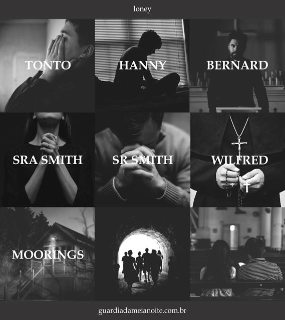 05 personagens