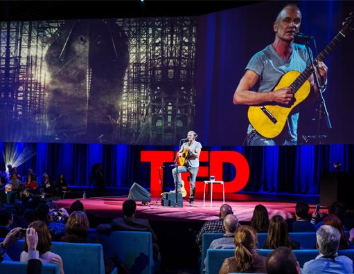 A experiência de falar em público no TED