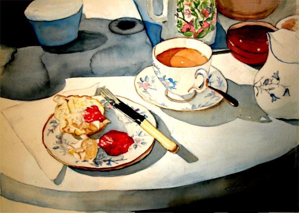 O chá das cinco adoçado com intriga
