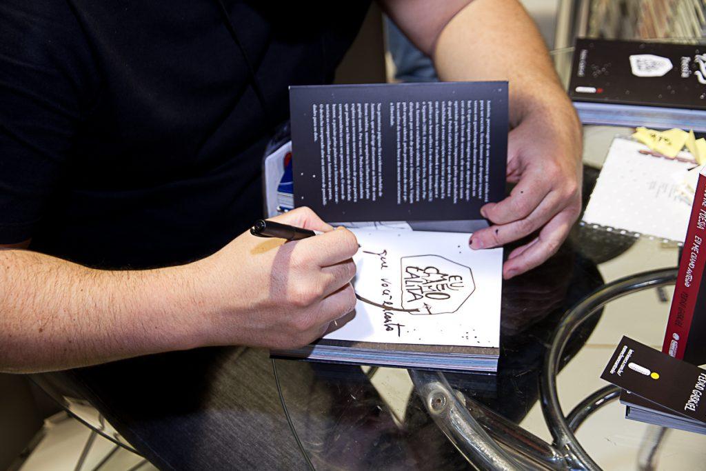 Pedro Gabriel na Bienal do Livro de São Paulo