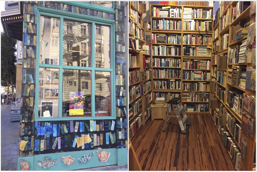 As fantásticas livrarias de São Francisco