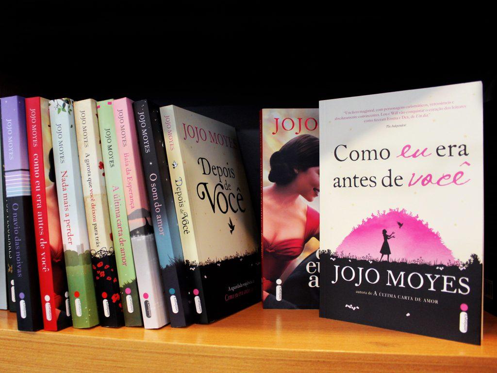 Jojo Moyes vem ao Brasil em maio!