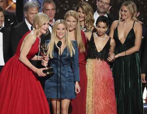 Big Little Lies, série inspirada em romance de Liane Moriarty, é uma das grandes vencedoras do Emmy