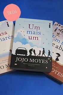 Sorteio Facebook - Lançamentos Jojo Moyes (Encerrado)
