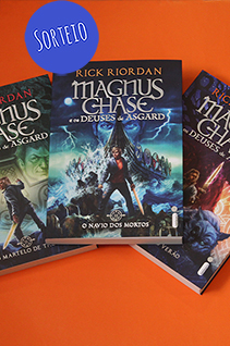 Sorteio Facebook – Série Magnus Chase [Encerrado]