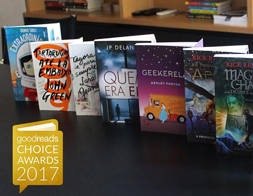 Os melhores livros do ano, segundo o Goodreads