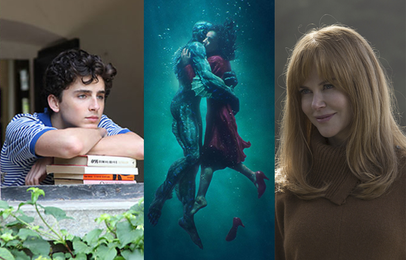 A Forma da água, de Guillermo del Toro, lidera as indicações ao Globo de Ouro