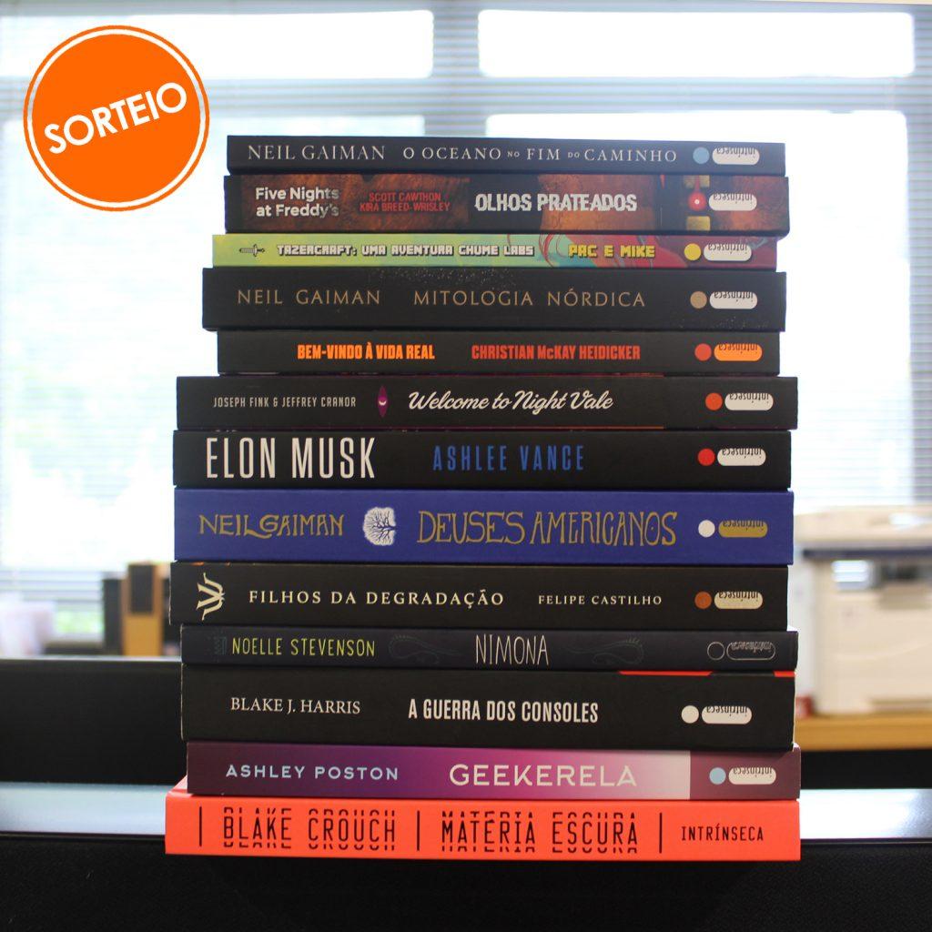 Sorteio Facebook – Livros Geek