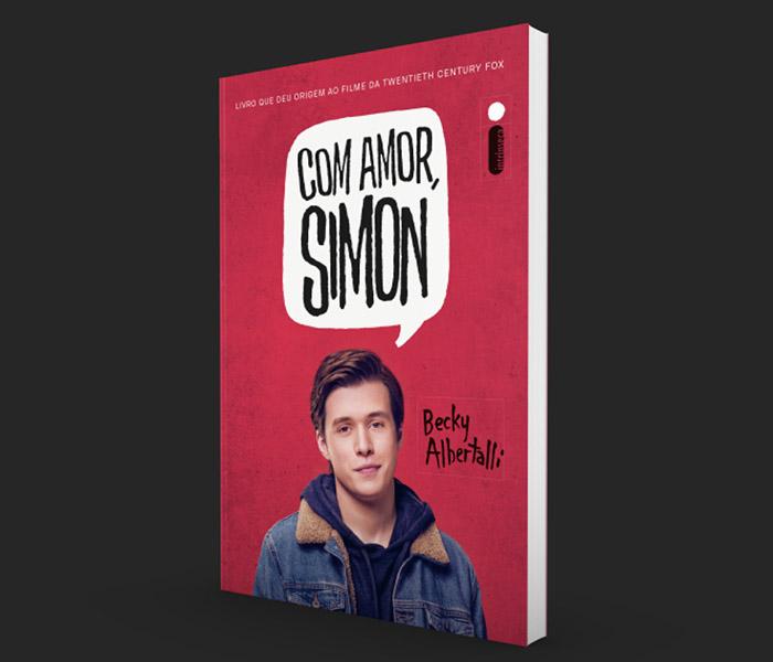 Com amor, Simon chega às livrarias em março com nova capa