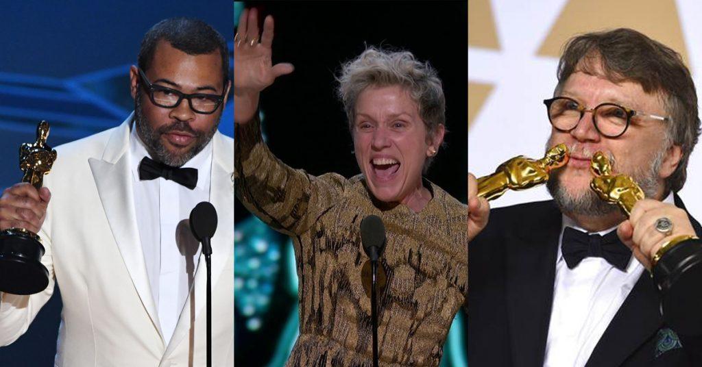Em noite repleta de protestos e momentos históricos, A Forma da Água é o grande vencedor do Oscar 2018!