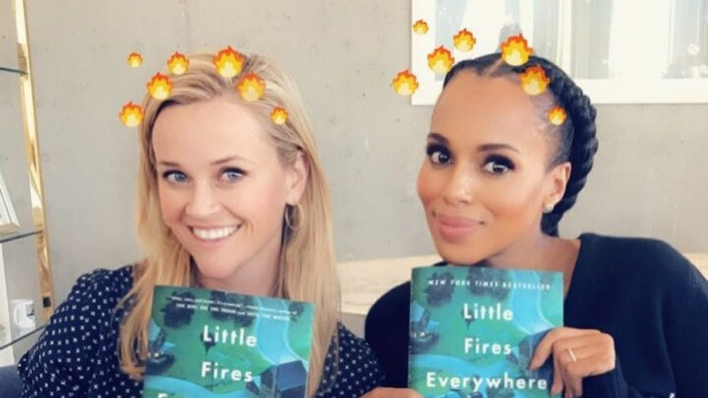 Reese Witherspoon e Kerry Washington vão adaptar romance de Celeste Ng