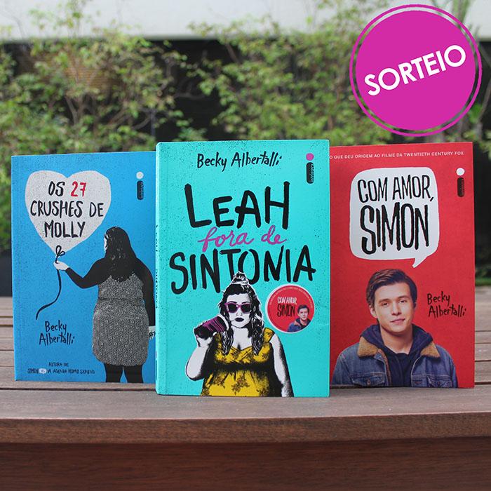 Sorteio Facebook – Simon, Leah e Molly [Encerrado]