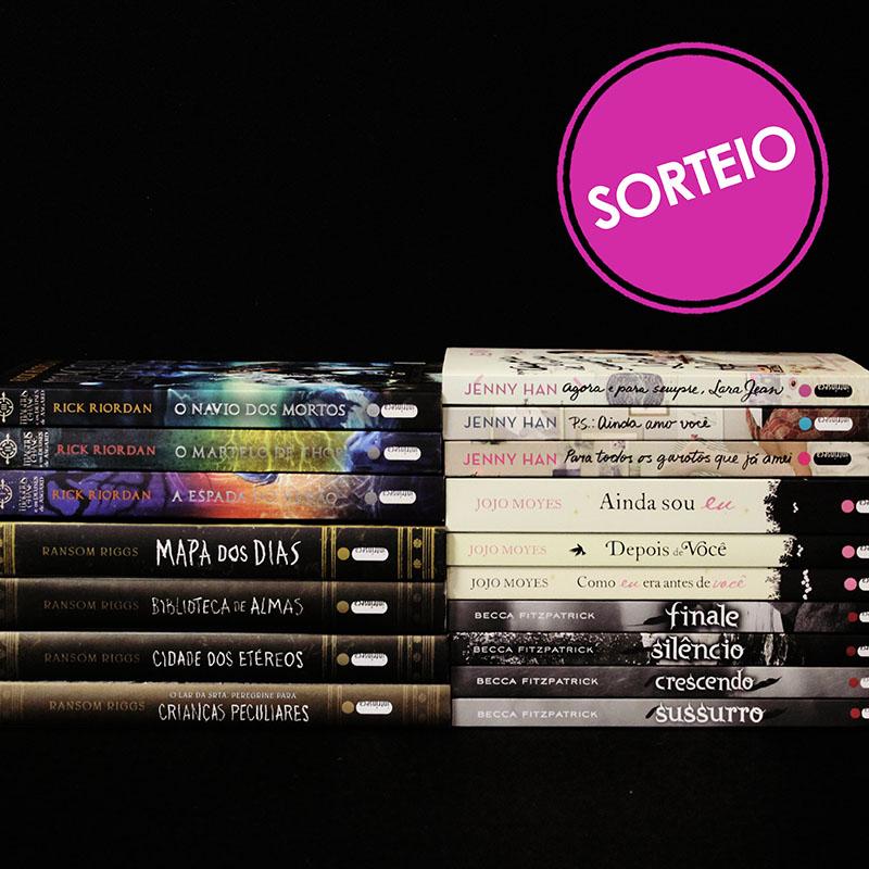 Sorteio Facebook – Séries amadas [Encerrado]