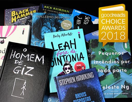 Está aberta a votação dos melhores livros do ano, segundo o Goodreads